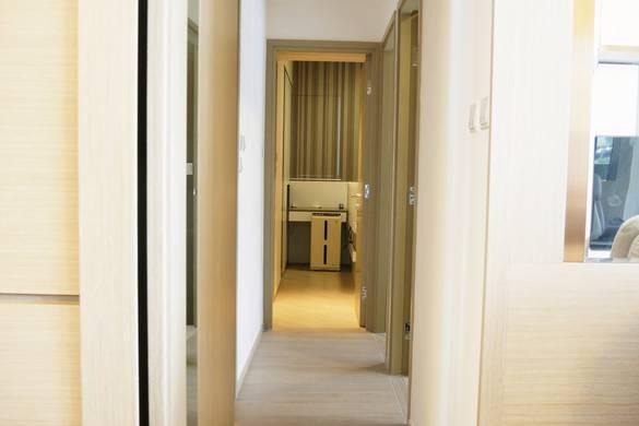 將軍澳天晉走廊裝修奢華風室內設計
