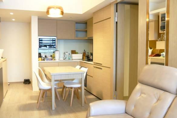 將軍澳天晉飯廳裝修奢華風室內設計