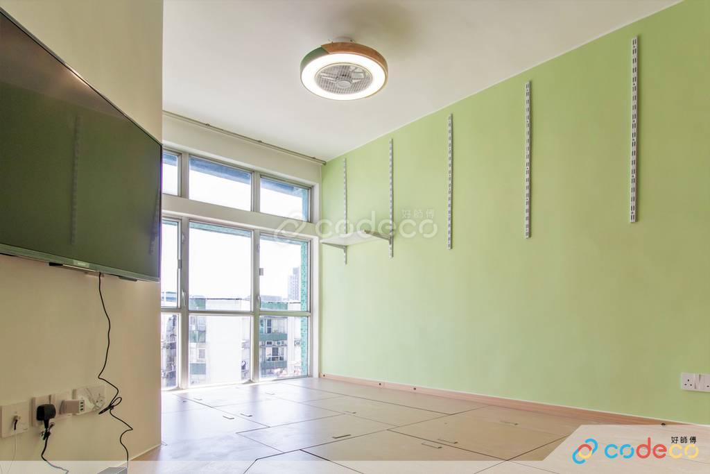 紅磡黃埔花園大廳裝修
