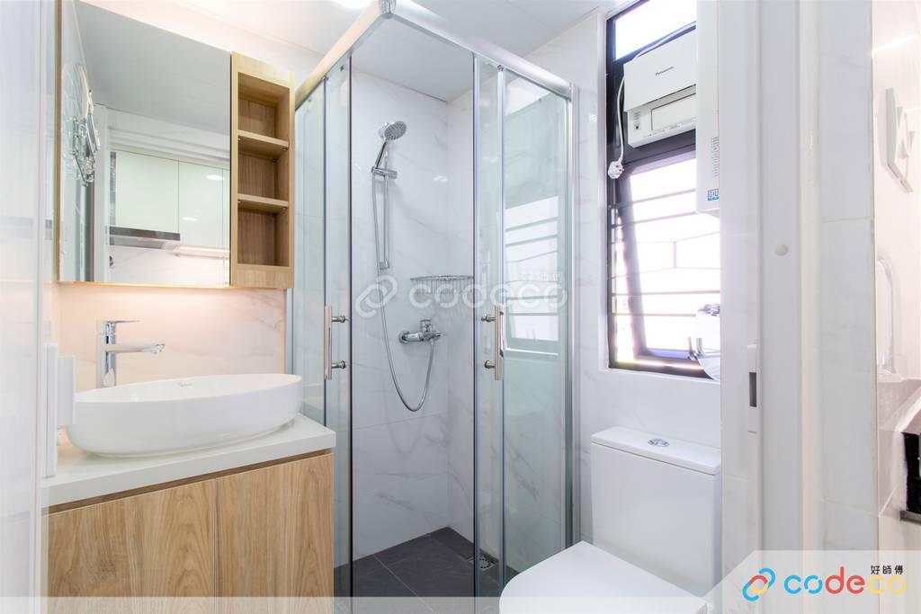 九龍城區金寶大廈廁所裝修