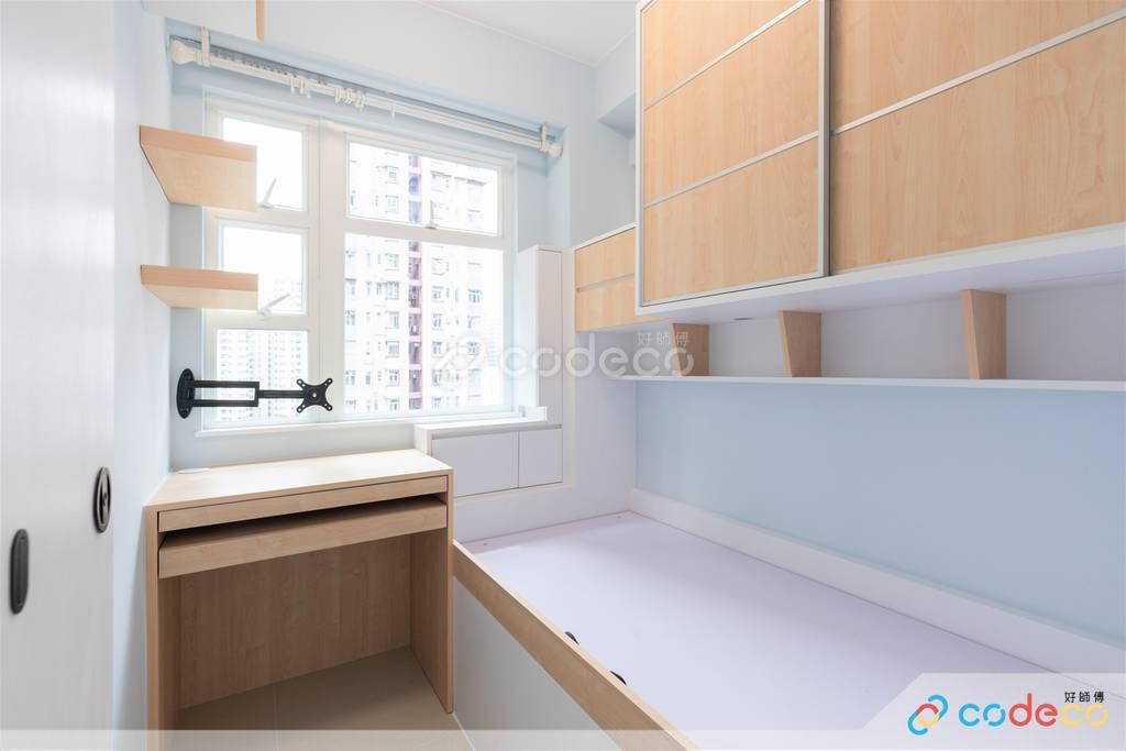 油麻地安蘭閣睡房裝修