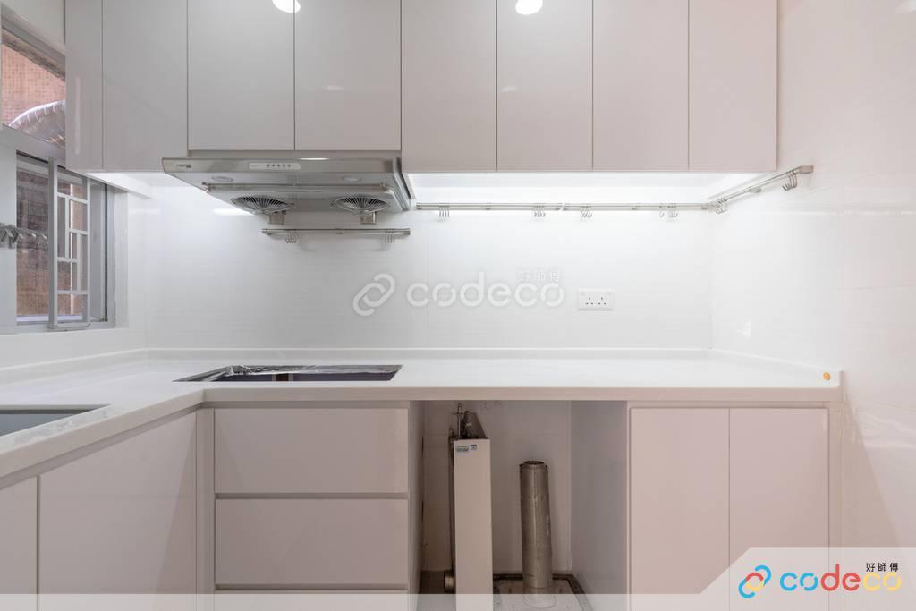 長沙灣日輝大廈廚房裝修