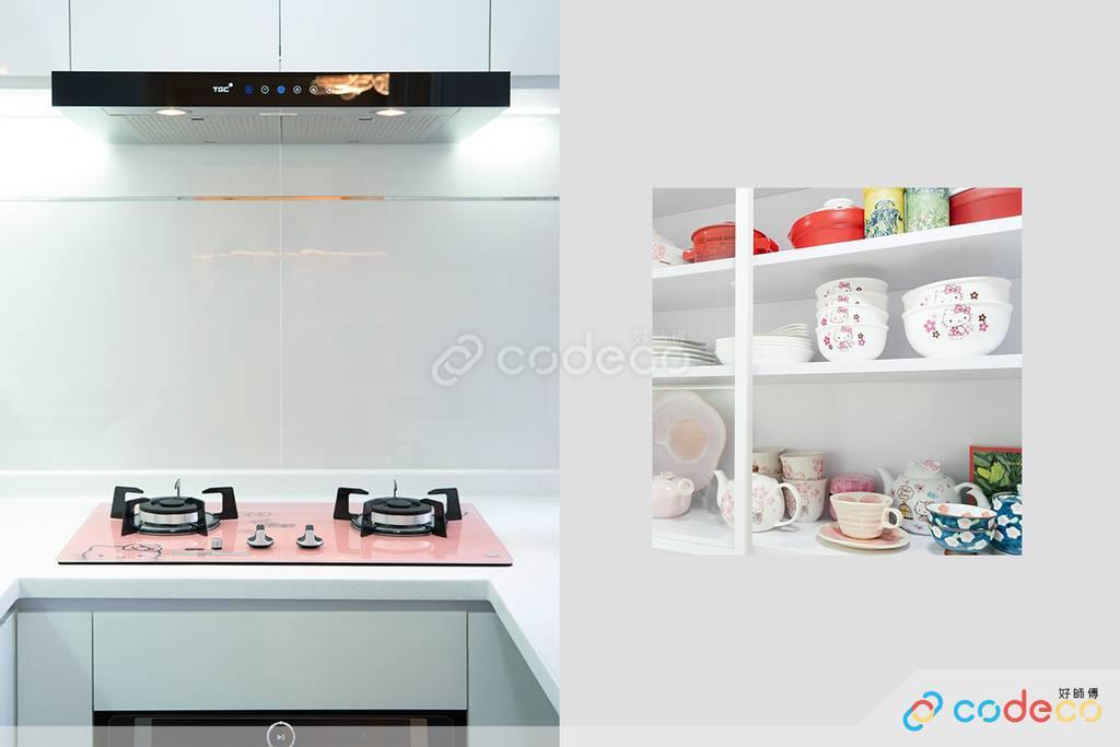 長沙灣凱樂苑廚房裝修