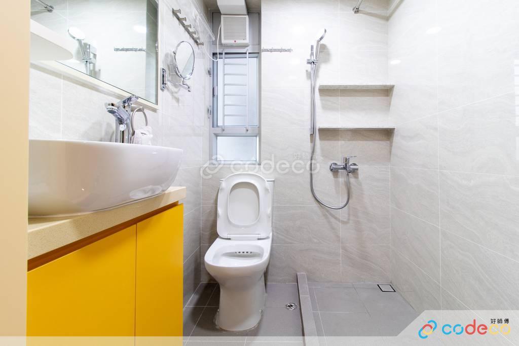 火炭旭禾苑浴室裝修