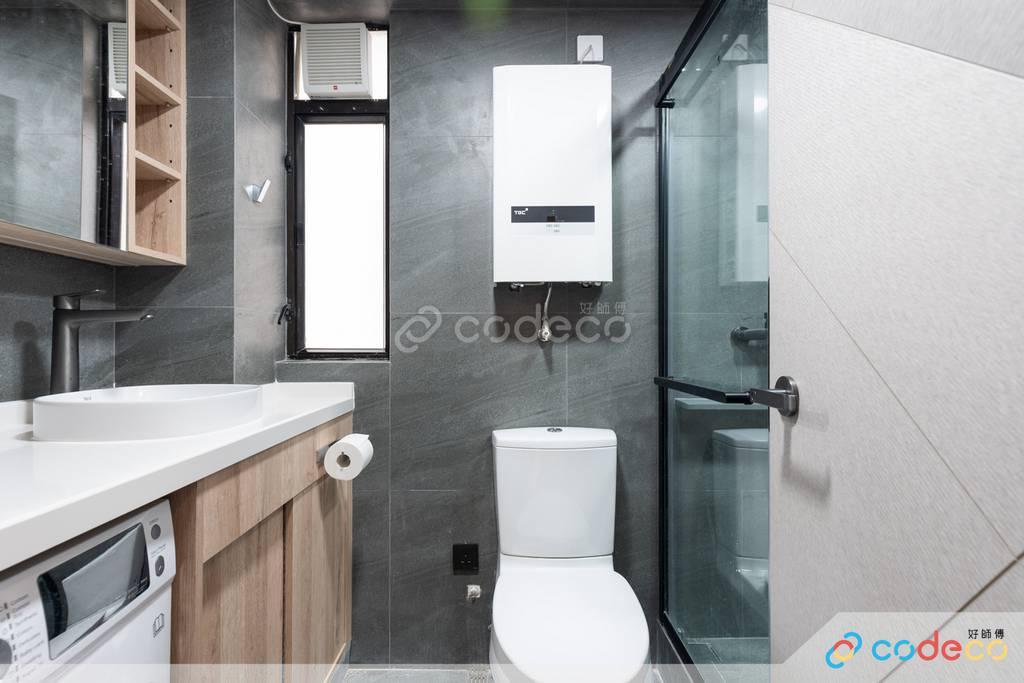 筲箕灣峻峰花園廁所裝修翻新
