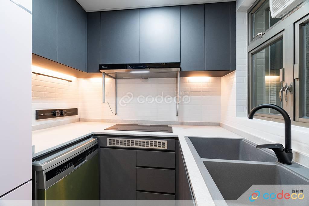 奧運君滙港廚房裝修