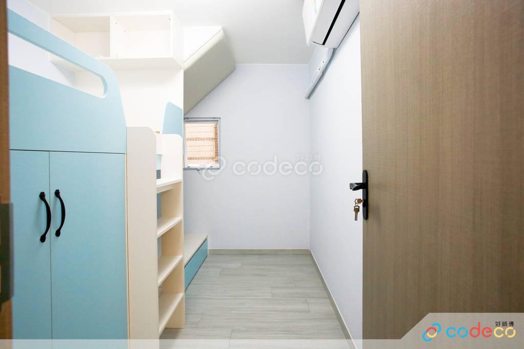 西貢官坑村村屋睡房裝修
