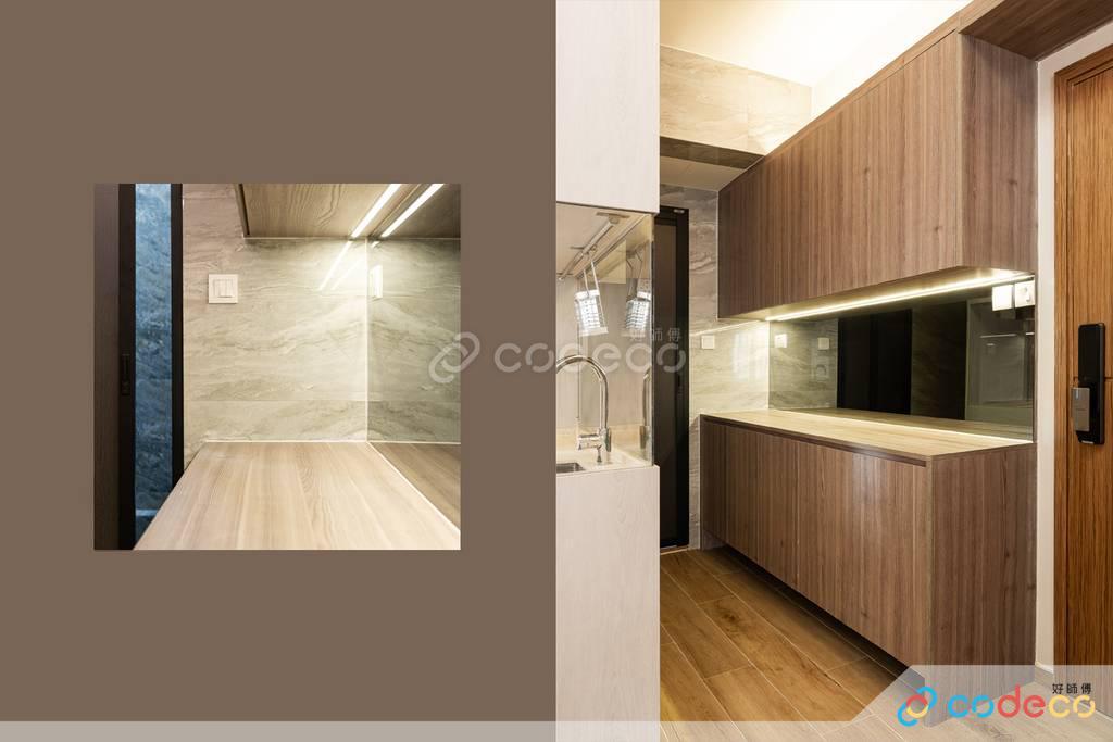 屯門美基樓廚房裝修翻新