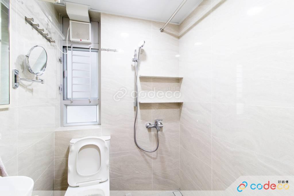 沙田區旭禾苑廁所裝修