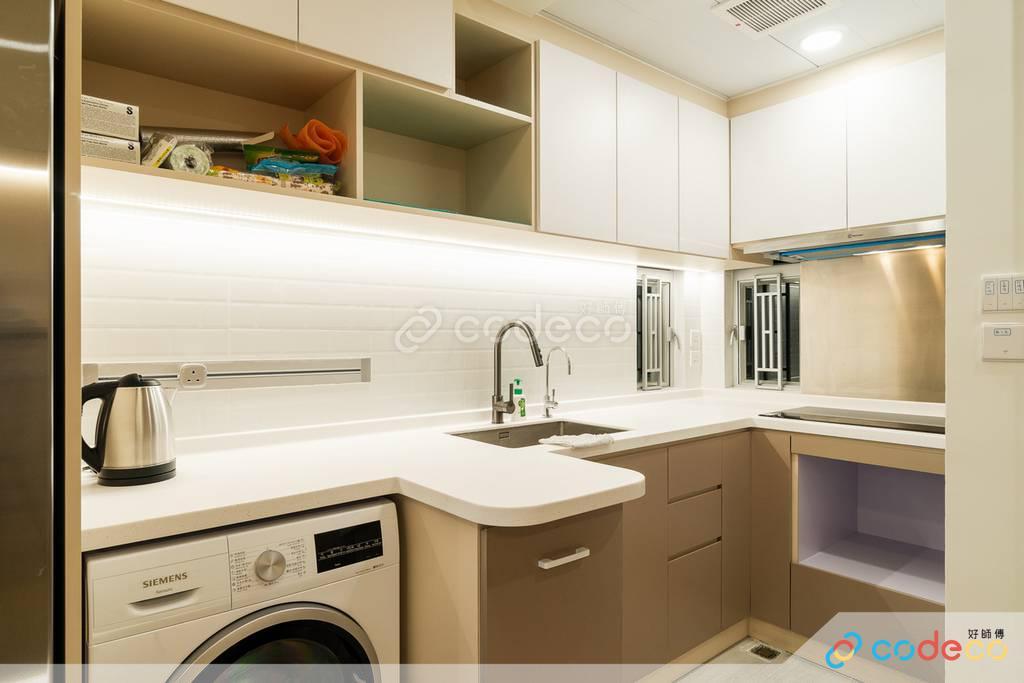 觀塘海景大廈廚房裝修