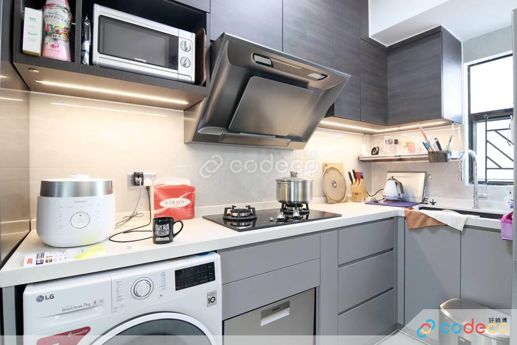 堅尼地城慧華閣廚房裝修翻新