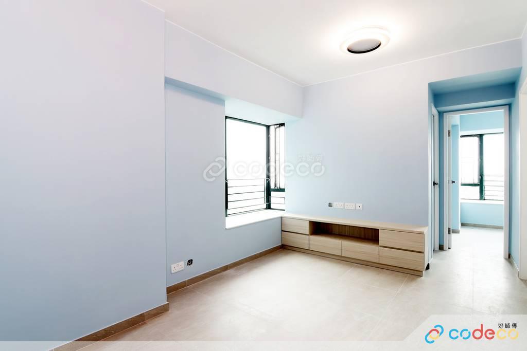 粉嶺牽晴間大廳裝修