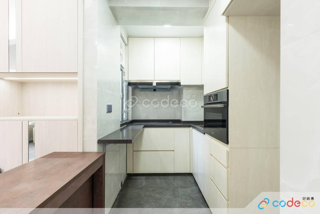 西營盤毓明閣廚房裝修