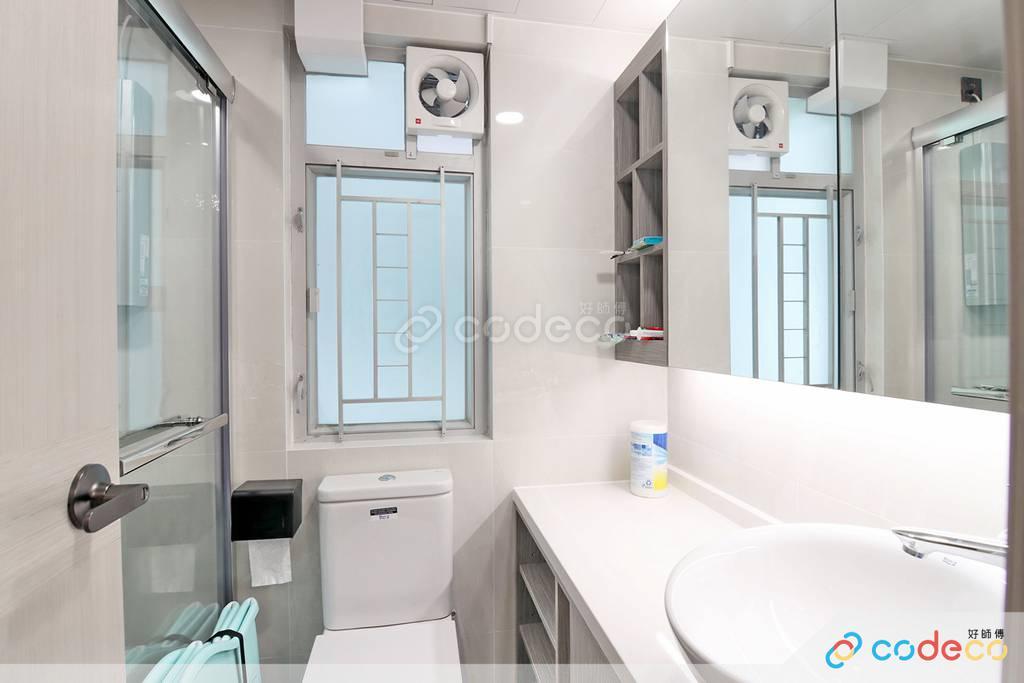 元朗蝶翠峰浴室裝修翻新
