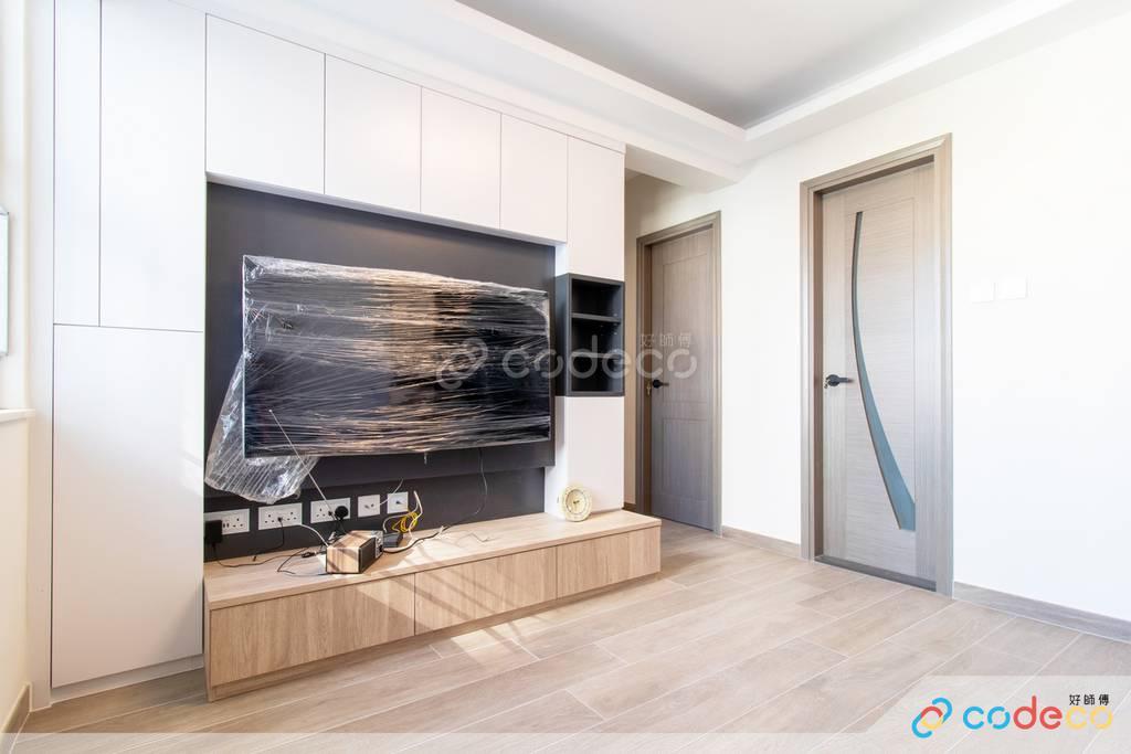 東區德禧樓客廳裝修