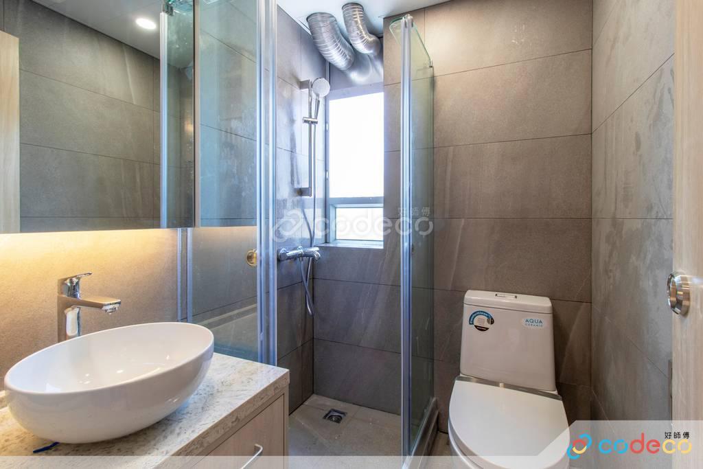 火炭旭禾苑廁所裝修
