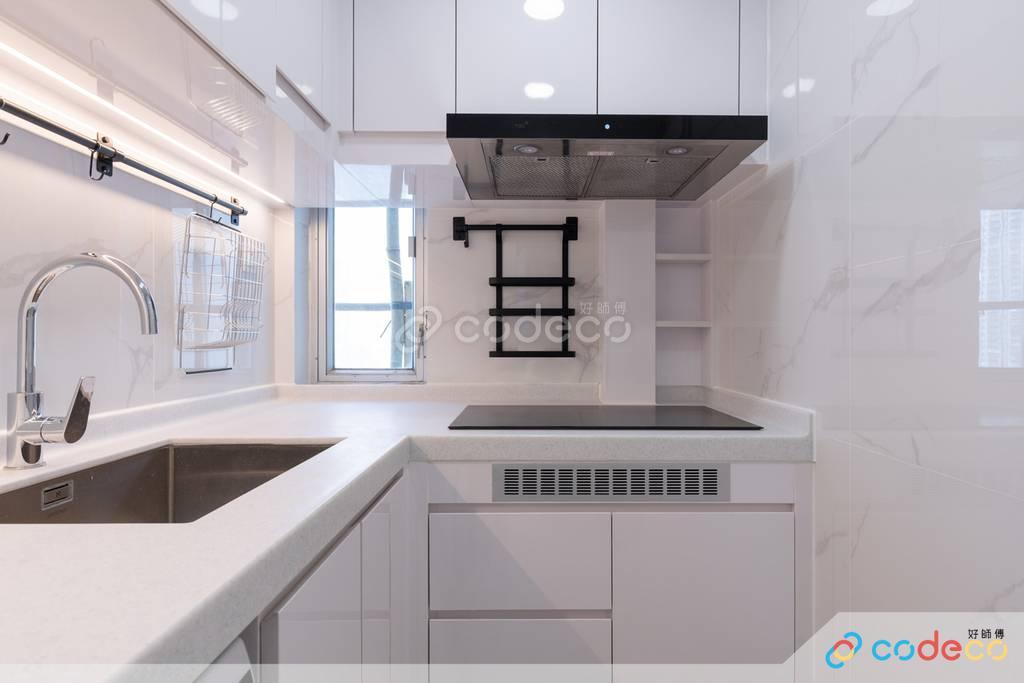 九龍灣德福花園廚房裝修