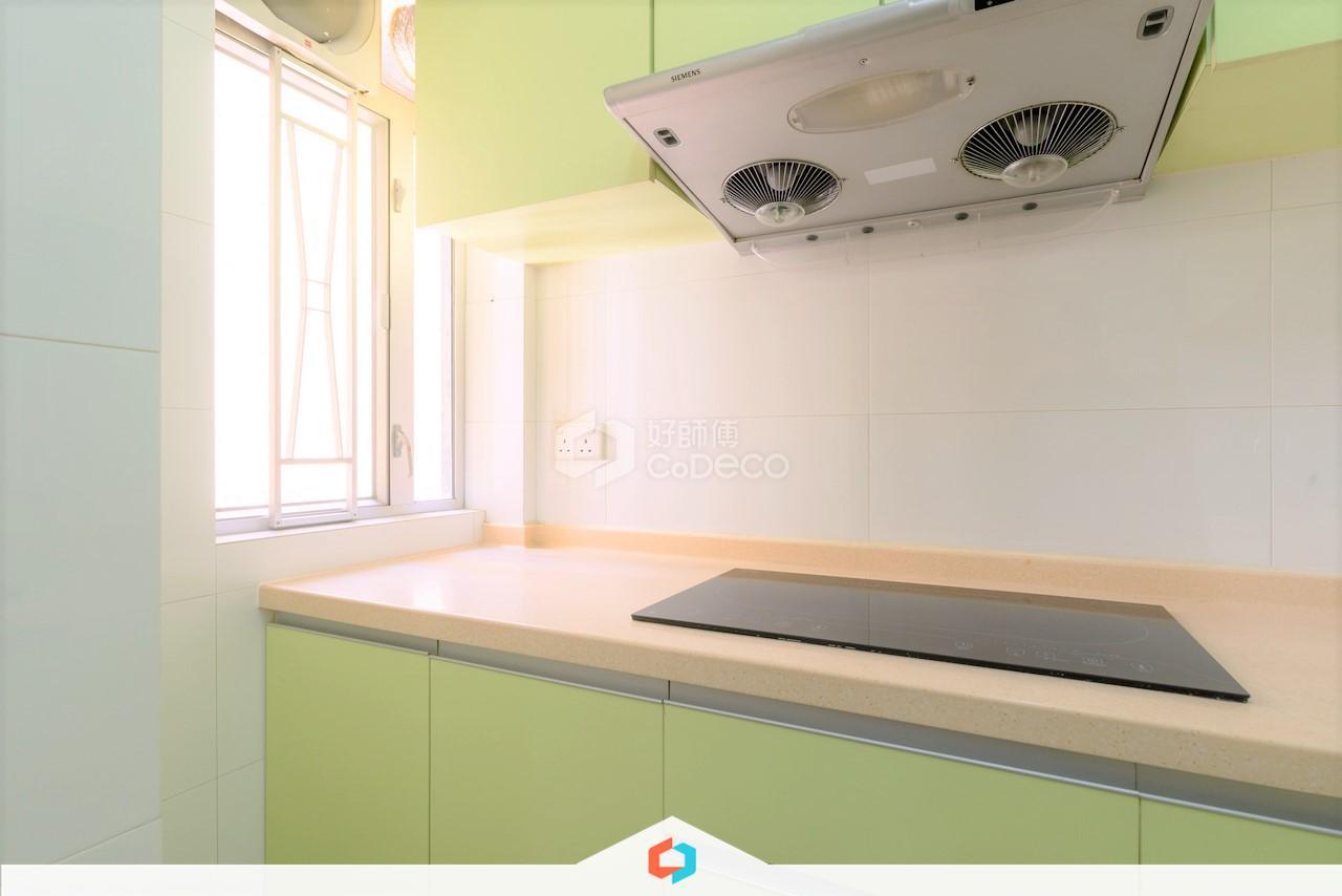 西灣河太安樓廚房裝修翻新