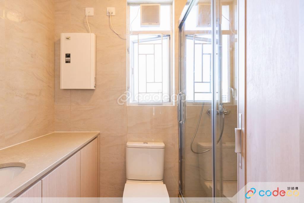 沙田區愉翠苑廁所裝修