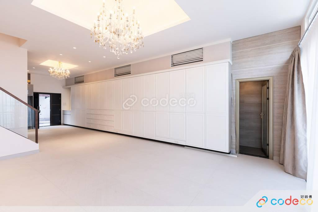 西貢紫蘭花園大廳裝修