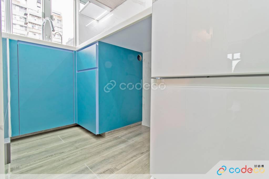 油麻地雅寶大廈廚房裝修