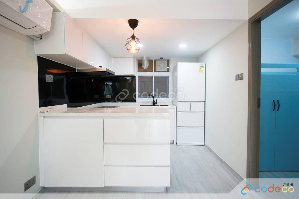 西貢官坑村村屋廚房裝修