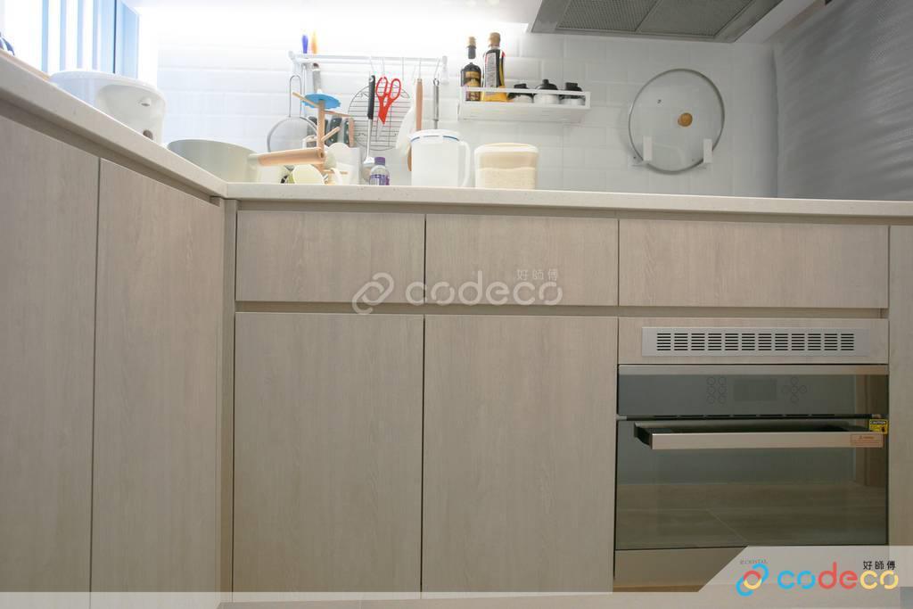 黃大仙區龍蟠苑廚房裝修