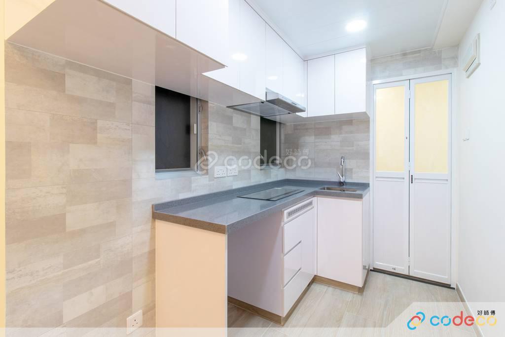 鰂魚涌得利樓廚房裝修