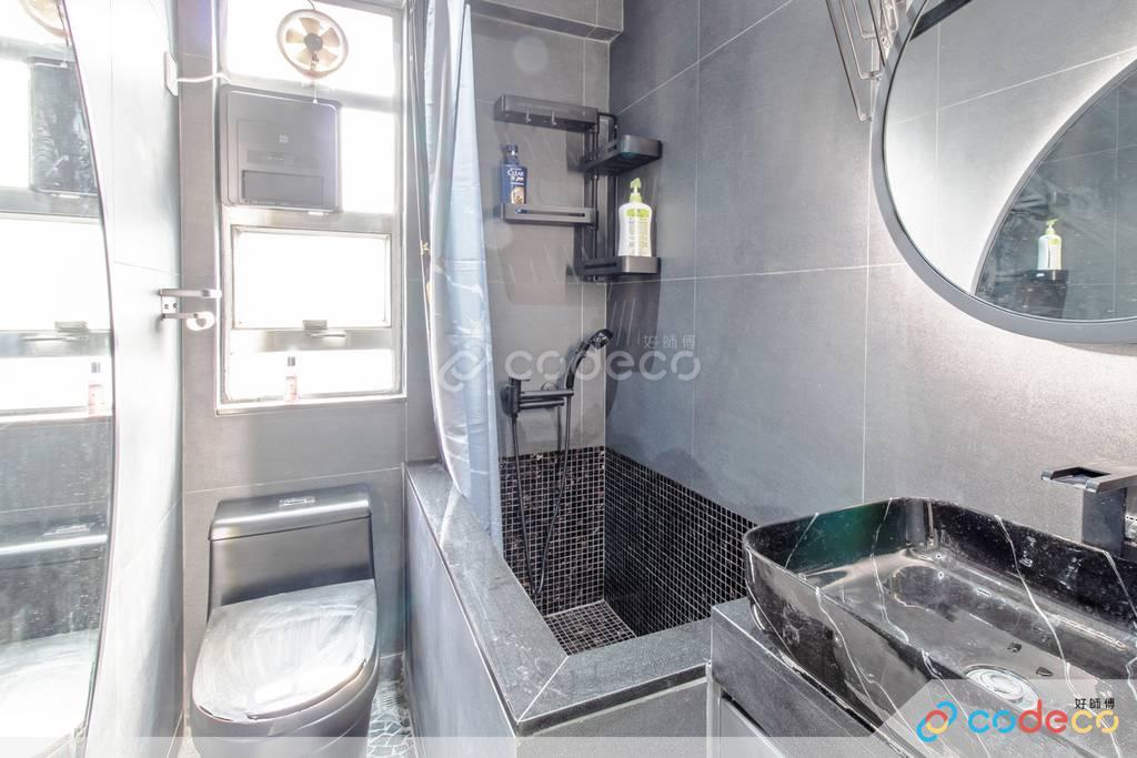 佐敦百誠大廈廁所裝修