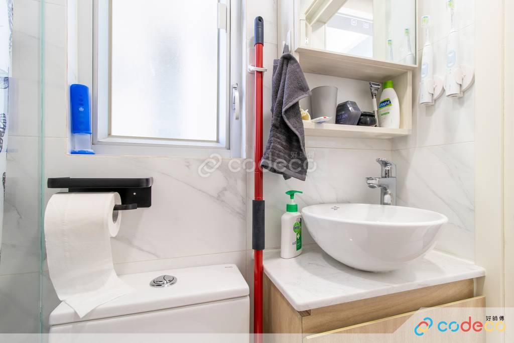 沙田河畔花園廁所裝修