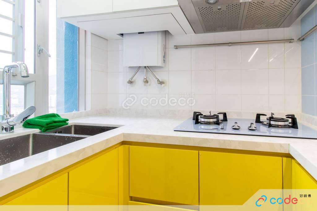 沙田區旭禾苑廚房裝修