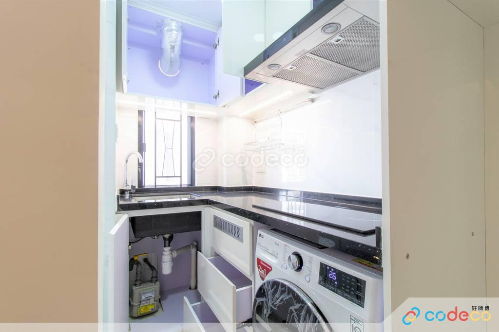 九龍城區金寶大廈廚房裝修