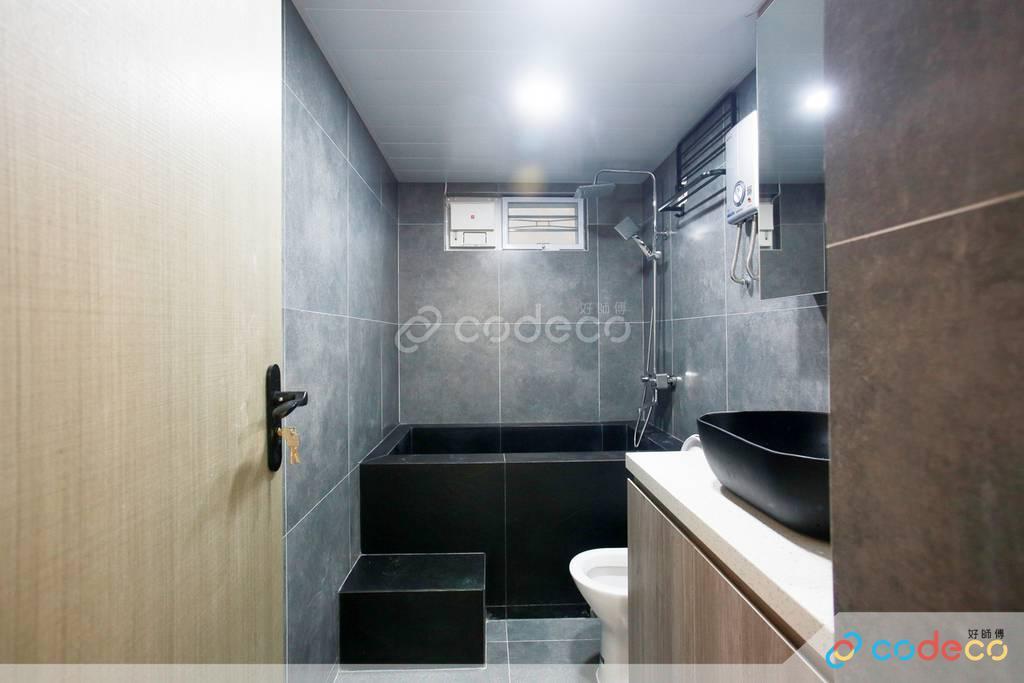 西貢官坑村村屋廁所裝修