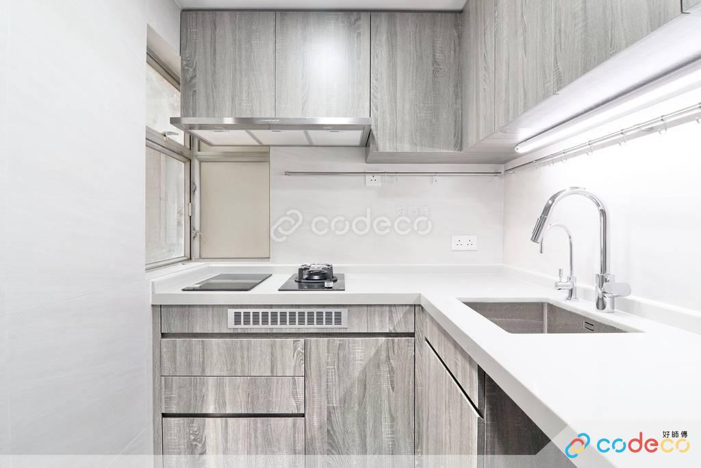 天水圍嘉湖山莊廚房裝修