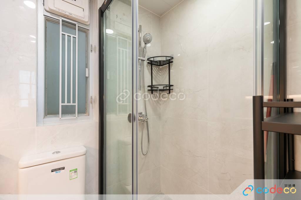 九龍灣德福花園廁所裝修