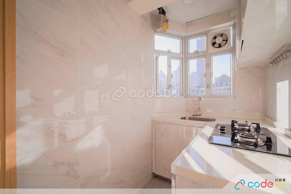 中西區金裕大廈廚房裝修