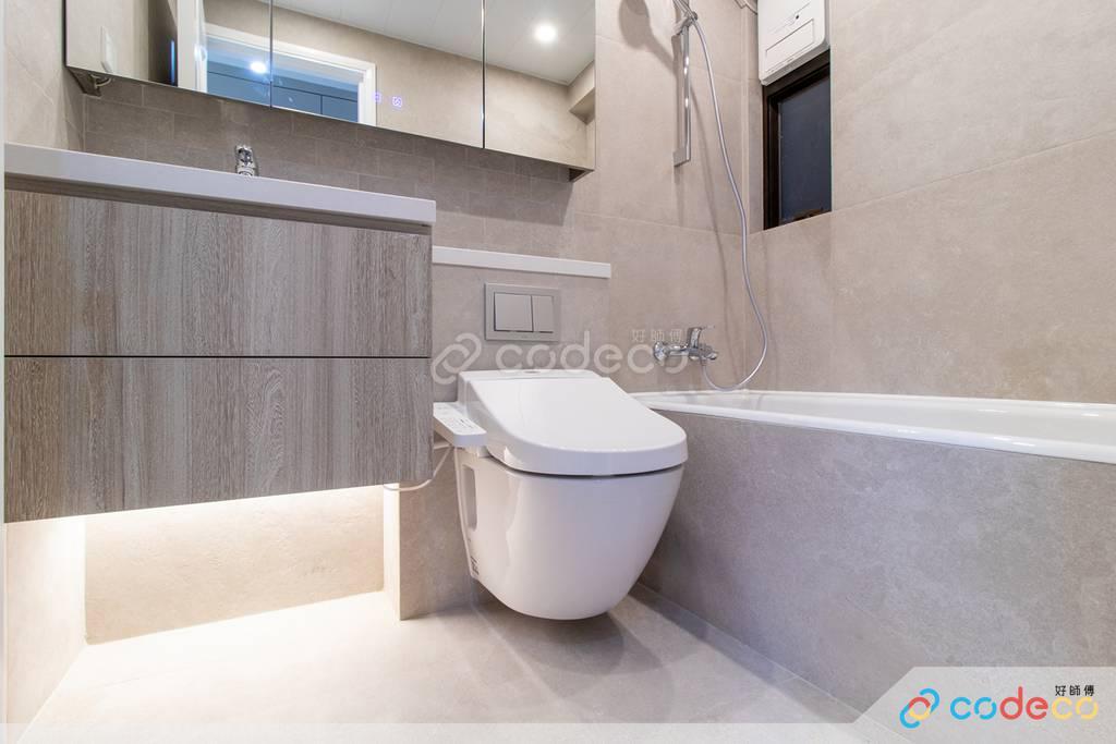 炮台山富澤花園廁所裝修