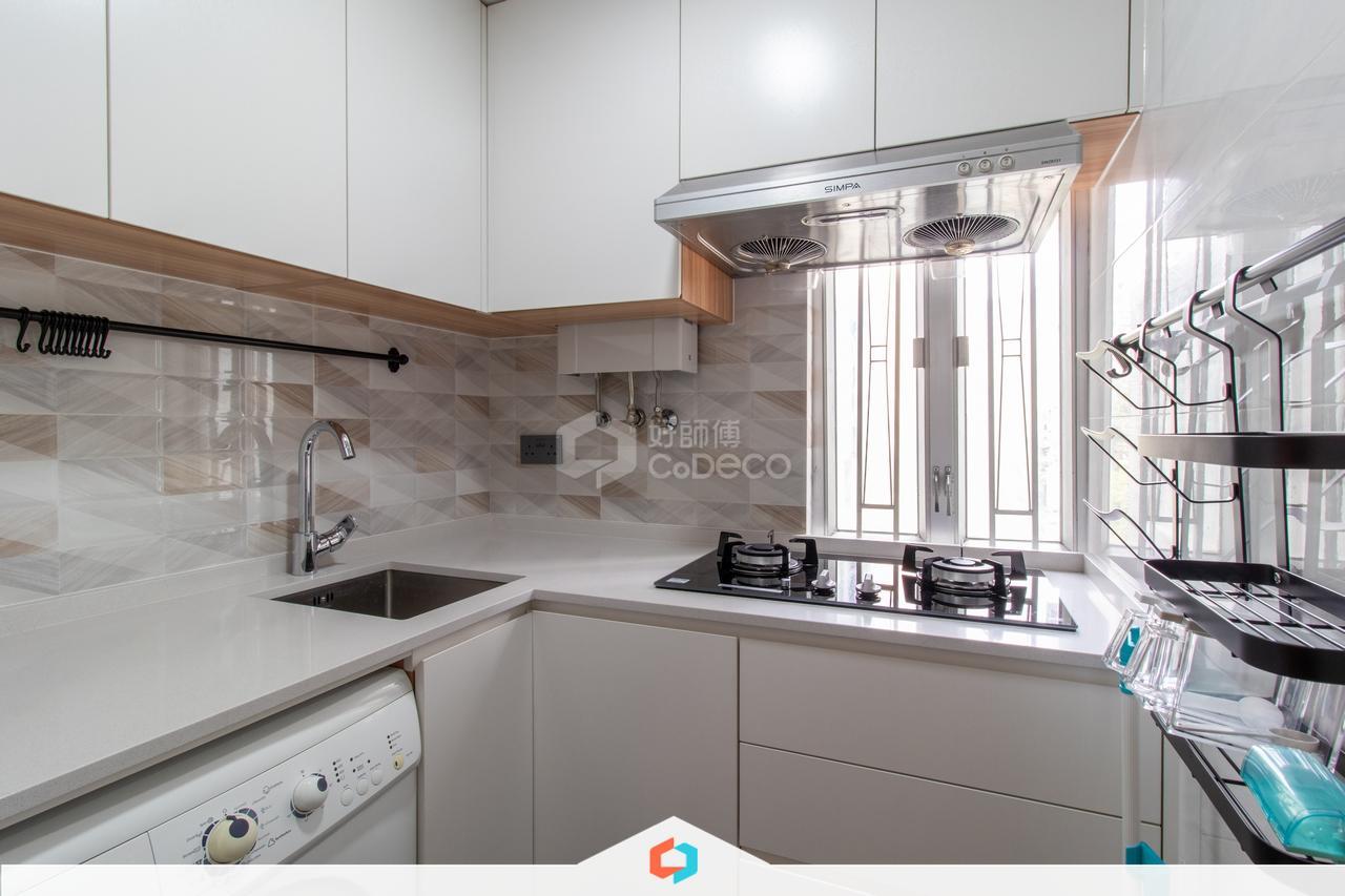 大圍金獅花園廚房裝修翻新