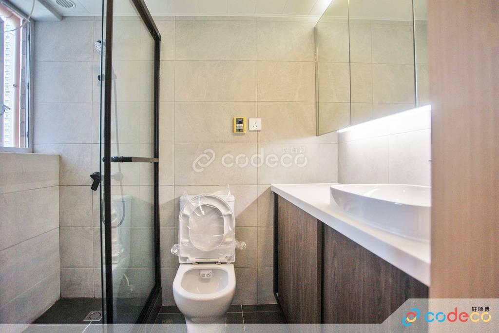 長沙灣泓景臺廁所裝修