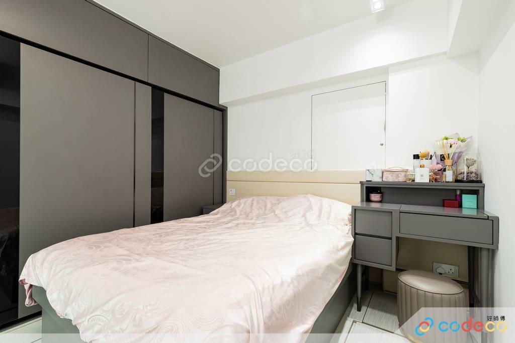 奧運維港灣睡房裝修