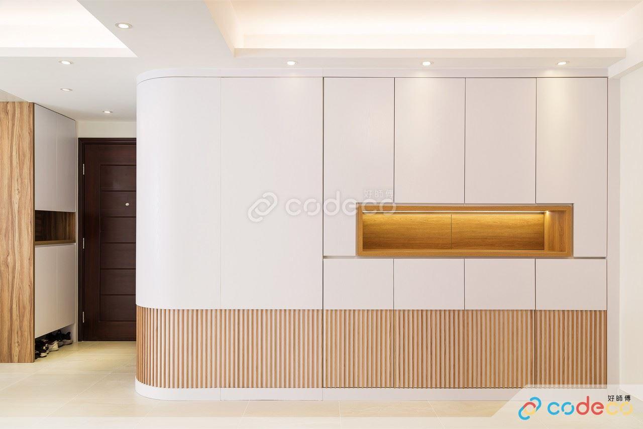 香港客廳圓弧設計