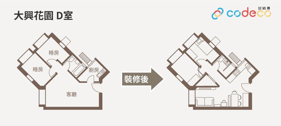 鑽石廳設計平面圖