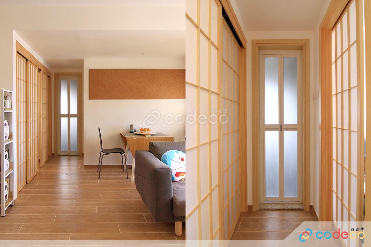 日式屏風門款式設計案例參考示範