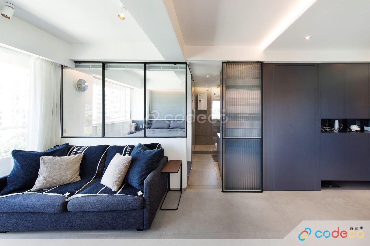 玻璃趟門款式設計案例參考示範