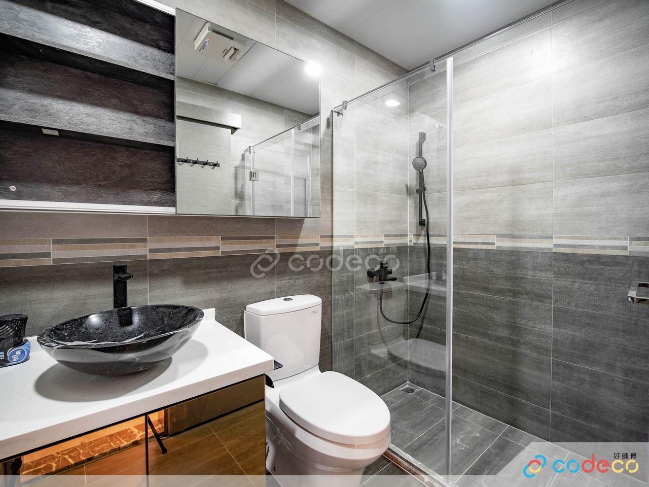 正面浴屏設計案例
