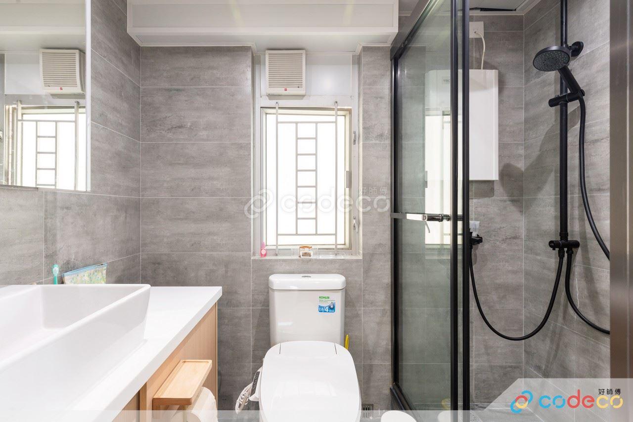 有框浴屏設計案例