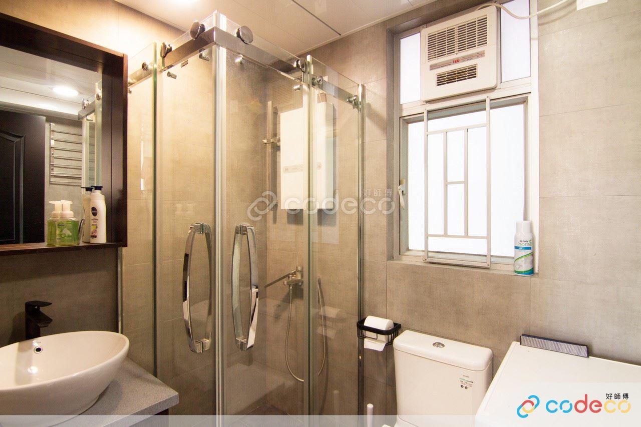 無框浴屏設計案例