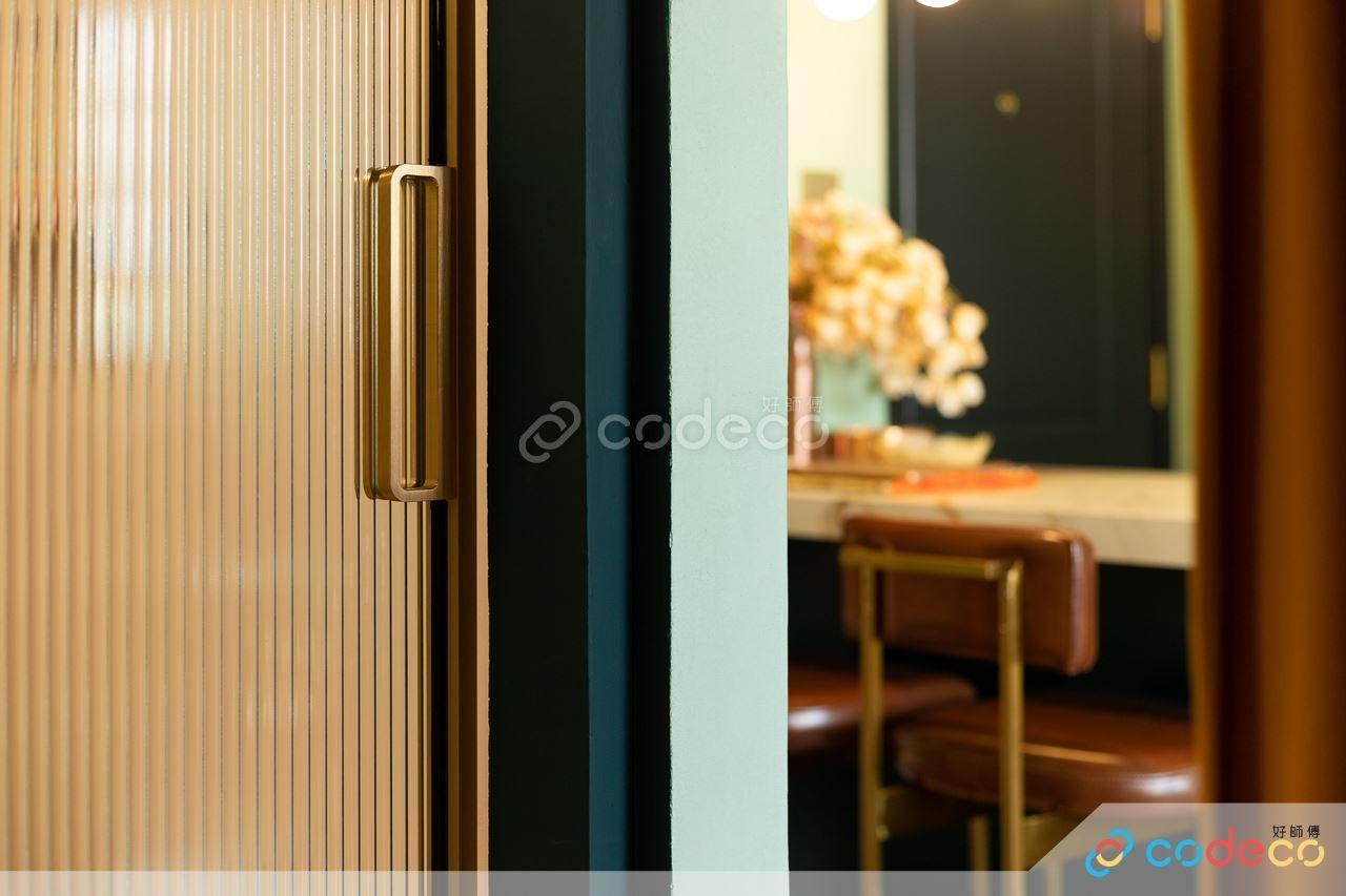 玻璃廁所門