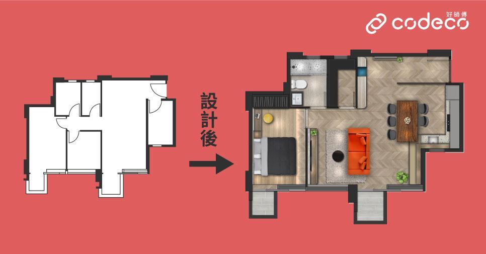 凱滙設計平面圖