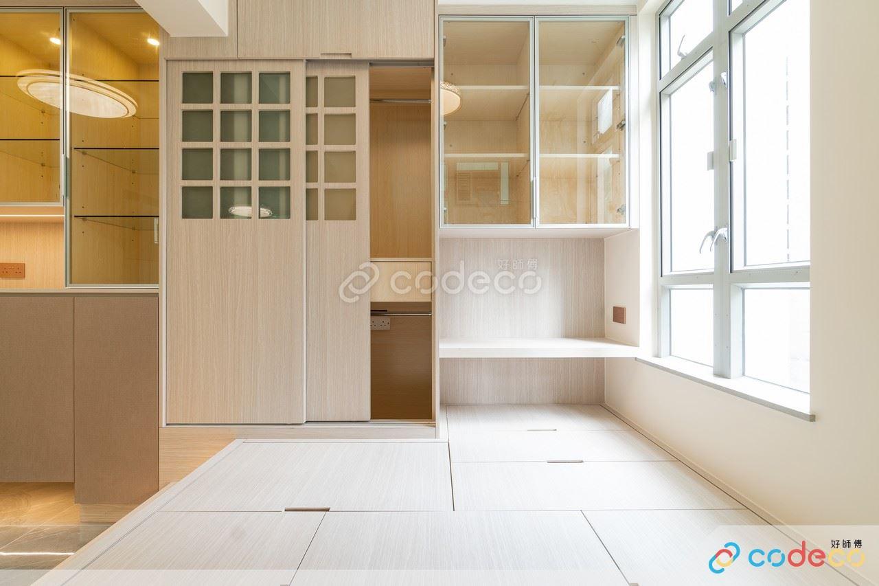 居屋設計參考 拆牆做地台和室